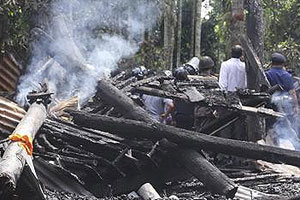 Hindu temples and homes destroyed - Jamaat-e-Islami - Bangladesh.jpg