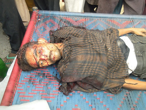 Sunil Masih 25 killed during a September 2011 pilgrimage to Mariamabad.jpg