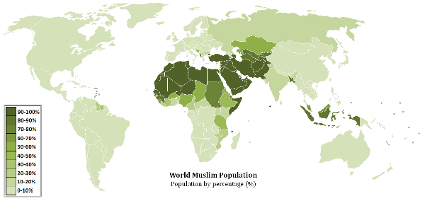 World muslim population map.png