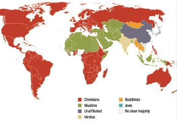 Fastest Growing Religion WikiIslam - Us religion distribution map
